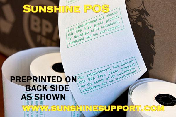 Thermal Bpa Free Receipt Printer Paper Rolls