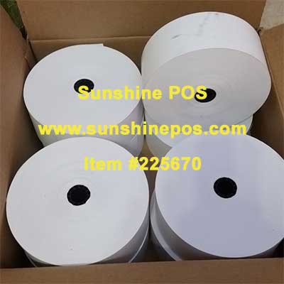 """Genmega 2 1//4/"""" x 670/' Hvywght Thermal ATM Receipt Paper Roll ~FREE SHIPPING~ 1"""